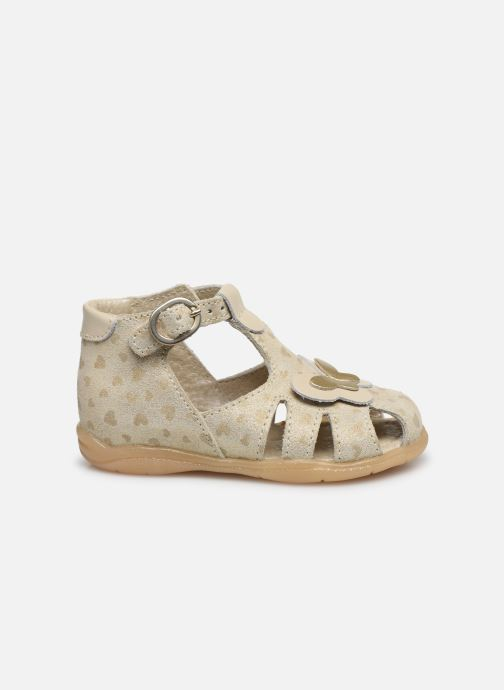Sandalias Little Mary Laure Oro y bronce vistra trasera