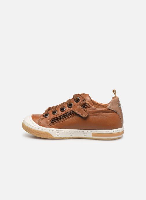 Sneakers Little Mary Logan Marrone immagine frontale