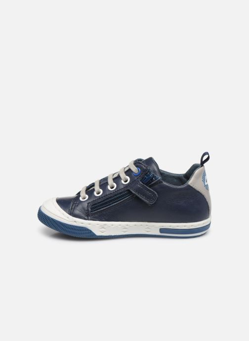 Trainers Little Mary Logan Blue front view