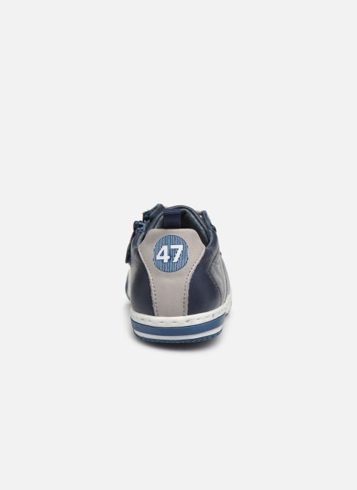 Trainers Little Mary Logan Blue view from the right