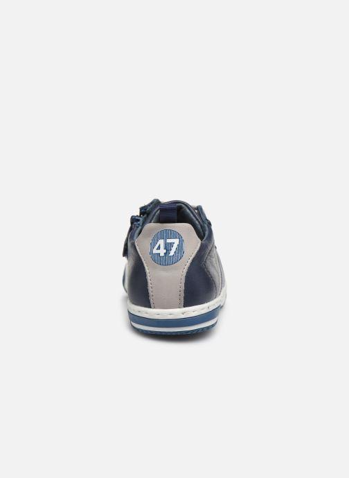 Sneakers Little Mary Logan Azzurro immagine destra