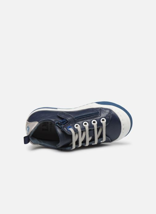 Trainers Little Mary Logan Blue view from the left