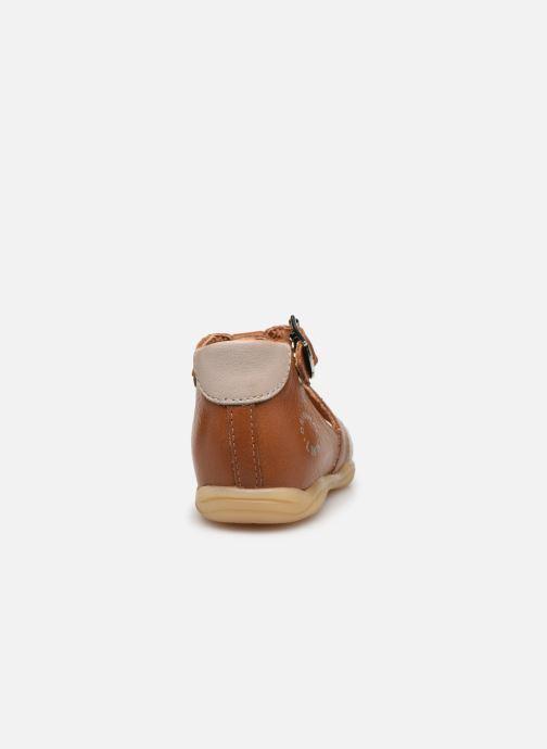 Sandali e scarpe aperte Little Mary Grégoire Marrone immagine destra