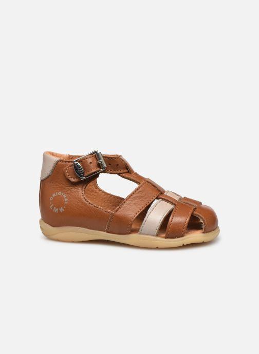 Sandales et nu-pieds Little Mary Grégoire Marron vue derrière