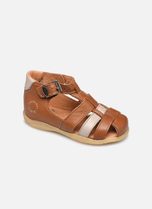 Sandales et nu-pieds Little Mary Grégoire Marron vue détail/paire