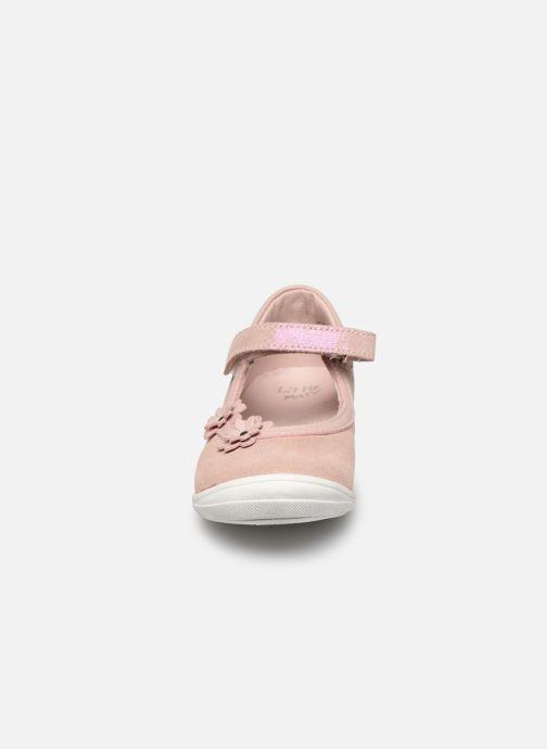 Ballerinas Little Mary Lou rosa schuhe getragen