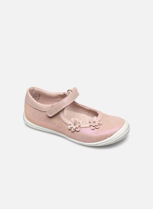 Ballerines Little Mary Lou Rose vue détail/paire
