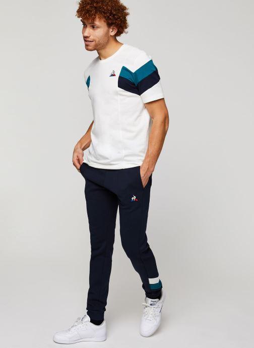 Vêtements Le Coq Sportif Chevron Pant Slim N°1 M Bleu vue bas / vue portée sac