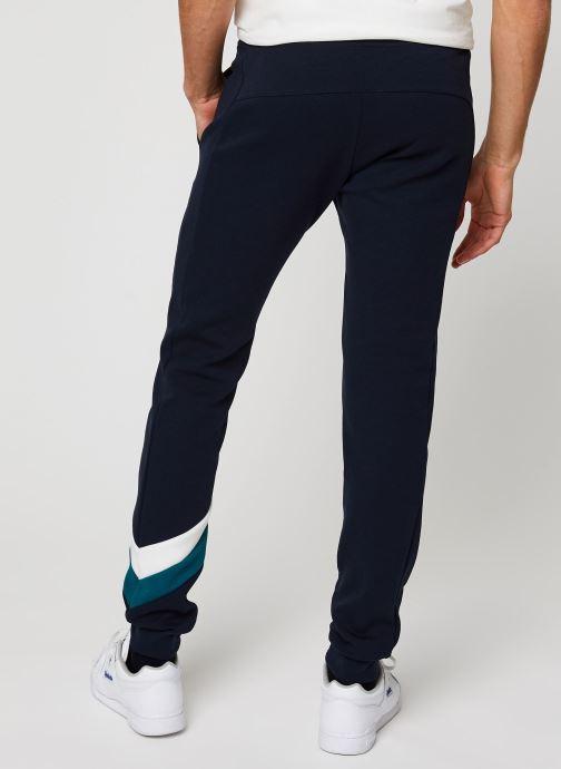 Vêtements Le Coq Sportif Chevron Pant Slim N°1 M Bleu vue portées chaussures