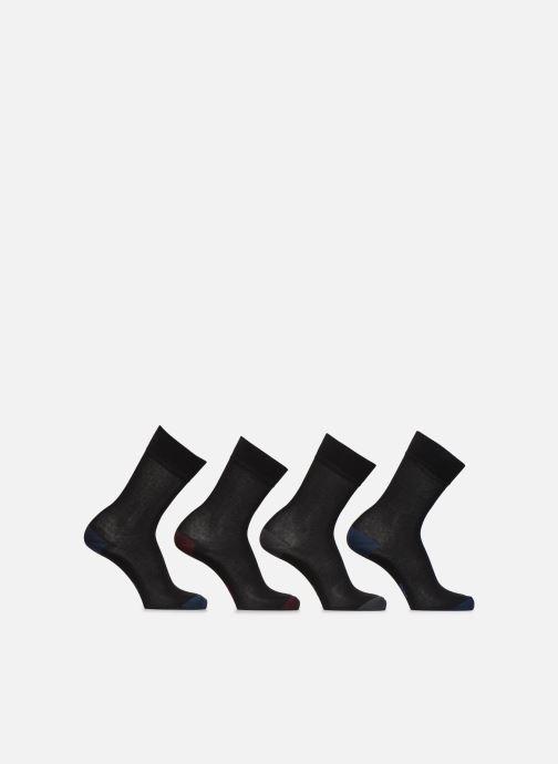 Chaussettes et collants Dim Chaussette Coton Mix & Match Lot de 4 Noir vue détail/paire