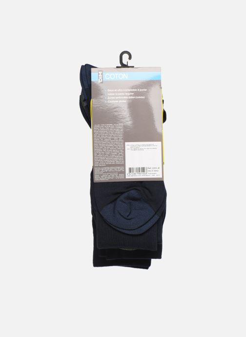 Sokken en panty's Dim Chaussette Coton Mix & Match Lot de 4 Blauw model