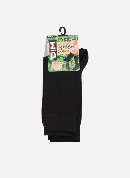 Socks & tights Dim Mi-Chaussette Green Lot X2 Black model view