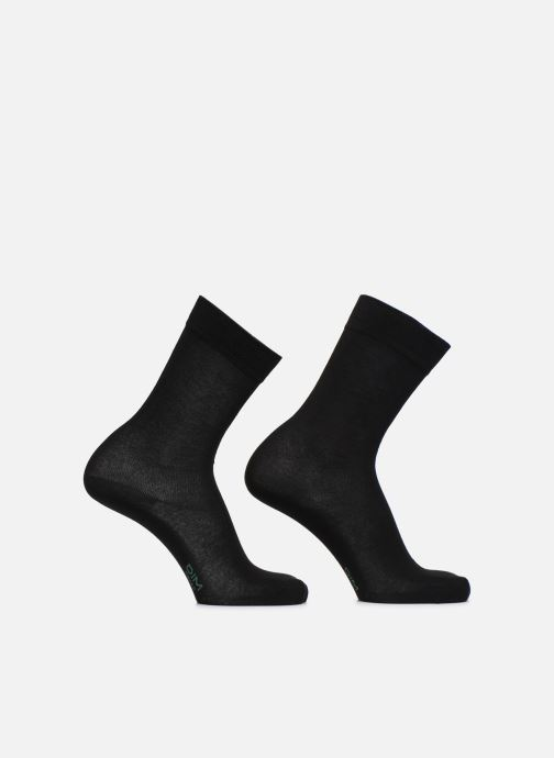 Socks & tights Dim Mi-Chaussette Green Lot X2 Black detailed view/ Pair view