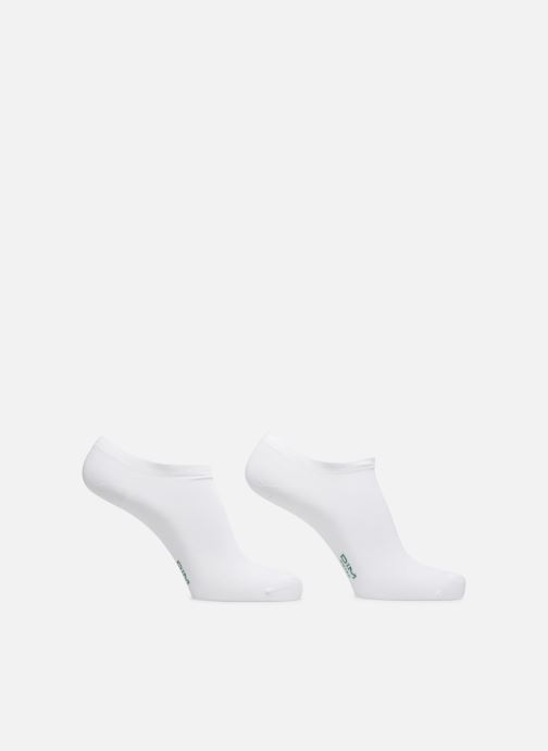 Socks & tights Dim Socquettes Courtes Green X2 White detailed view/ Pair view
