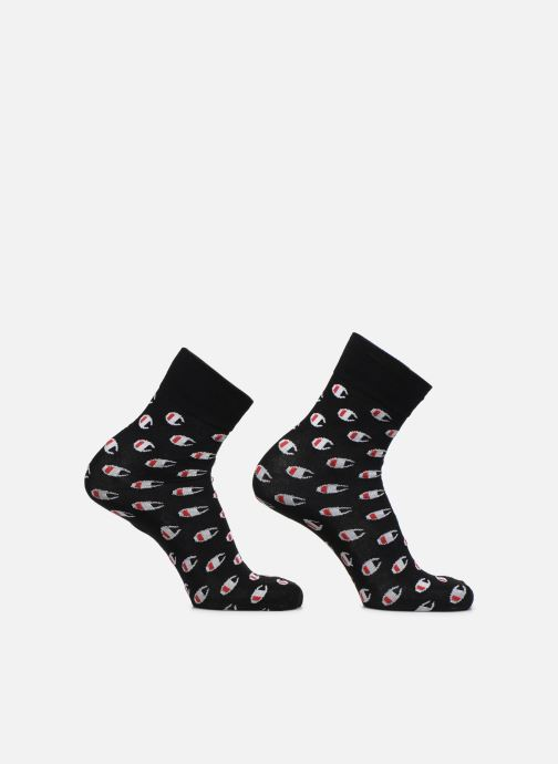 Socks & tights Champion Chaussettes Crew Socks Allover C Fashion Lot de 2 Black detailed view/ Pair view
