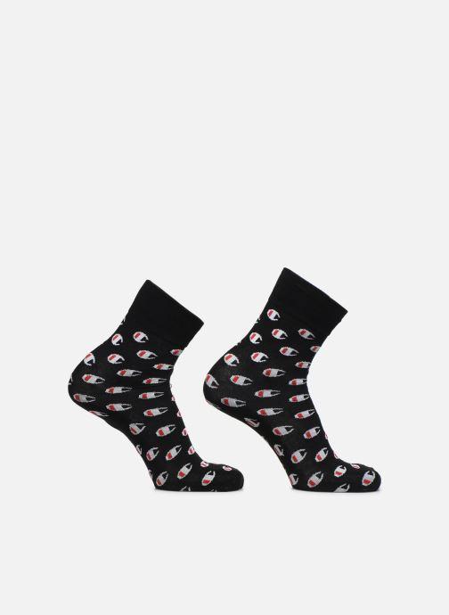Calze e collant Champion Chaussettes Crew Socks Allover C Fashion Lot de 2 Nero vedi dettaglio/paio