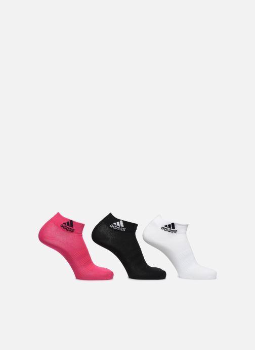 Chaussettes et collants adidas performance Light Ank 3Pp Noir vue détail/paire