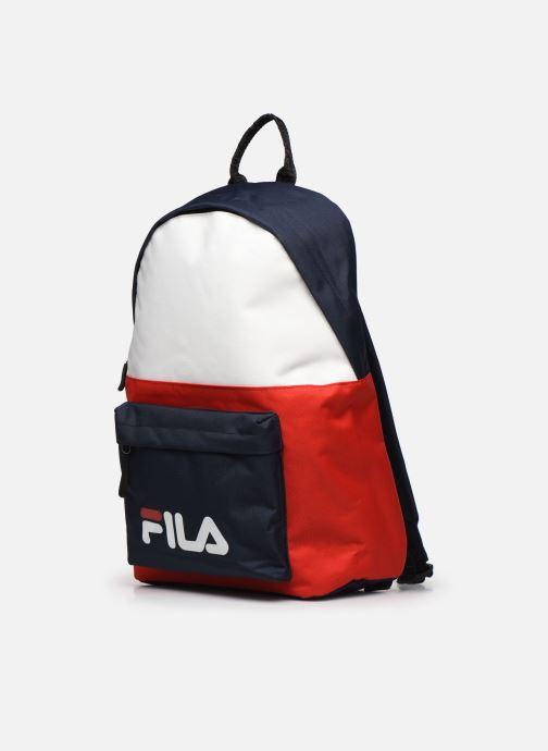 Sacs à dos FILA New Backpack S'Cool Two Bleu vue portées chaussures
