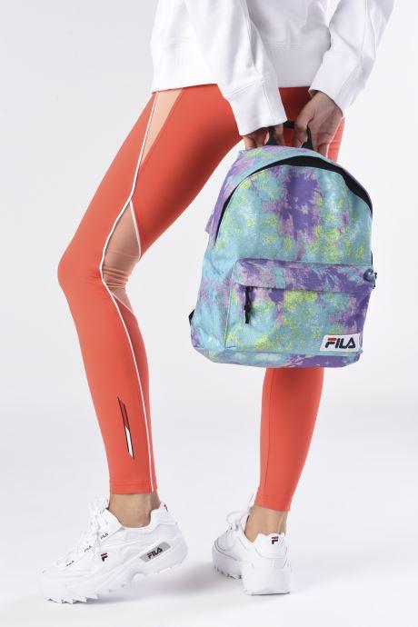 Rucksäcke FILA Mini Backpack Malmo AOP mehrfarbig ansicht von unten / tasche getragen