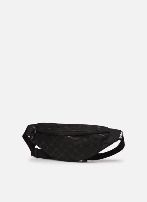 Borse FILA Waist Bag Henrik Nero modello indossato