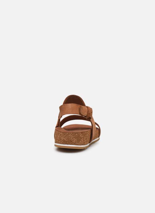 Sandali e scarpe aperte Timberland Malibu Waves 2Band Sandal Marrone immagine destra