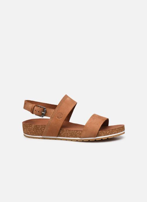 Sandali e scarpe aperte Timberland Malibu Waves 2Band Sandal Marrone immagine posteriore