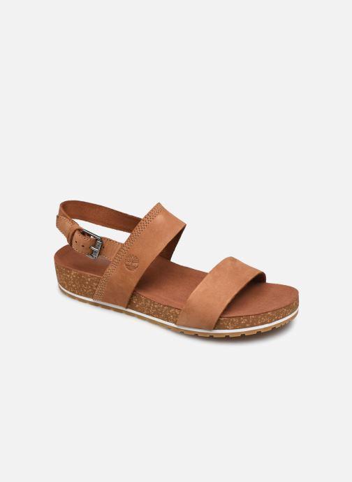 Sandali e scarpe aperte Timberland Malibu Waves 2Band Sandal Marrone vedi dettaglio/paio