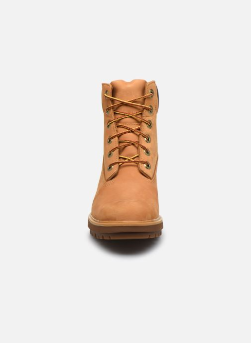 Bottines et boots Timberland Kinsley 6 In WP Boot Jaune vue portées chaussures