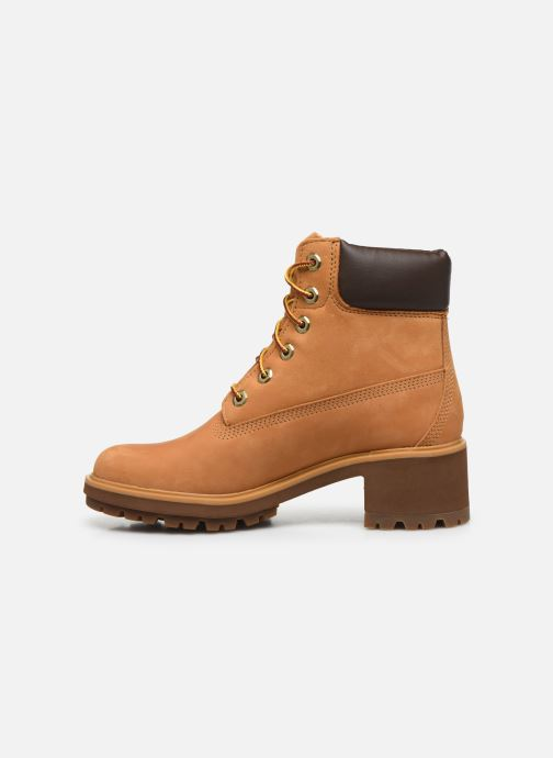 Bottines et boots Timberland Kinsley 6 In WP Boot Jaune vue face