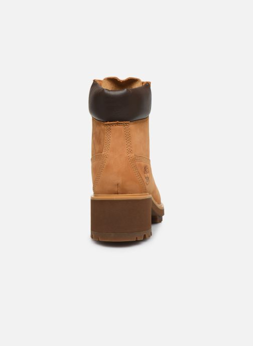 Bottines et boots Timberland Kinsley 6 In WP Boot Jaune vue droite