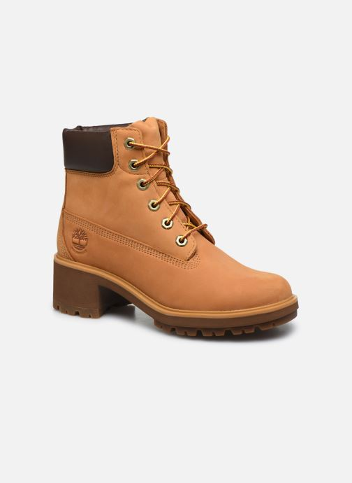 Bottines et boots Timberland Kinsley 6 In WP Boot Jaune vue détail/paire