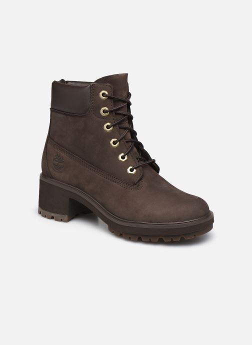 Bottines et boots Timberland Kinsley 6 In WP Boot Marron vue détail/paire