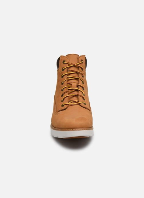 Bottines et boots Timberland Keeley Field 6in Marron vue portées chaussures