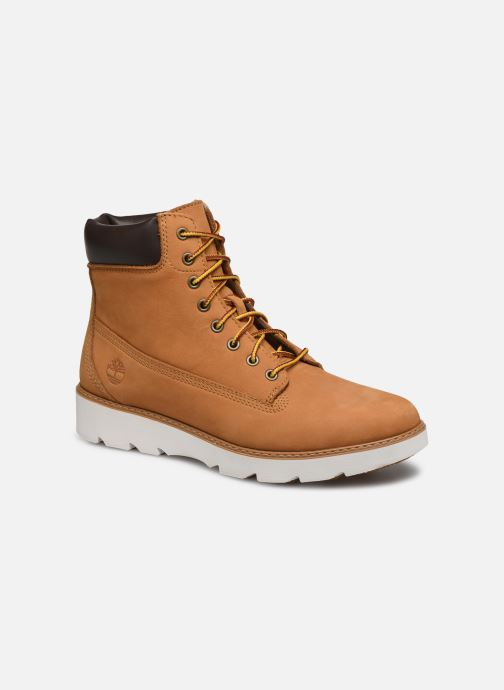 Bottines et boots Timberland Keeley Field 6in Marron vue détail/paire
