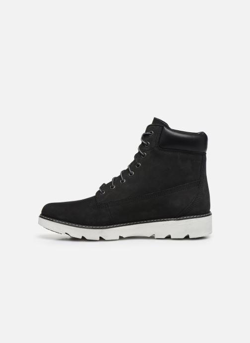 Boots en enkellaarsjes Timberland Keeley Field 6in Zwart voorkant