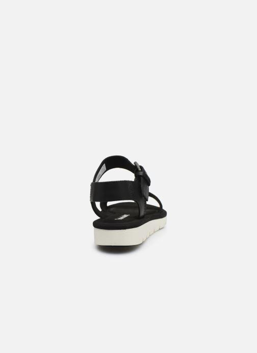 Sandales et nu-pieds Timberland Lottie Lou 1-Band Sandal Noir vue droite