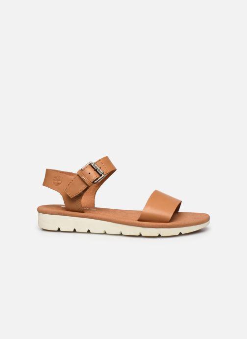 Sandales et nu-pieds Timberland Lottie Lou 1-Band Sandal Marron vue derrière