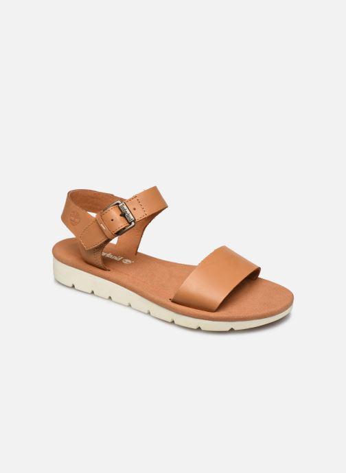 Sandales et nu-pieds Timberland Lottie Lou 1-Band Sandal Marron vue détail/paire