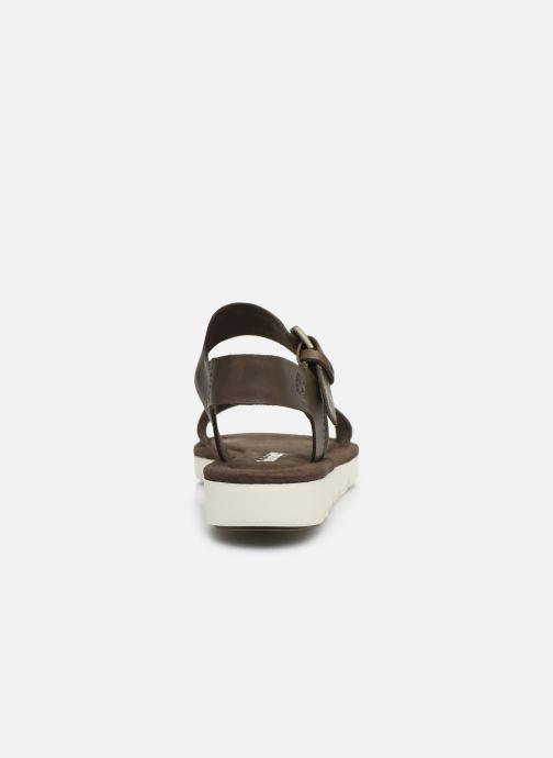 Sandales et nu-pieds Timberland Lottie Lou 1-Band Sandal Marron vue droite