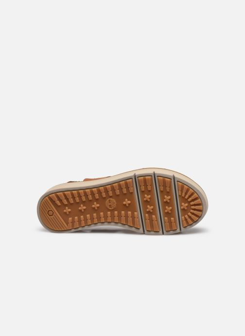 Sandales et nu-pieds Timberland Safari Dawn 2Band Marron vue haut