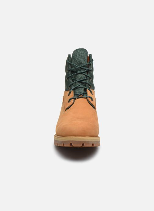 "Bottines et boots Timberland 6"" WP Treadlight Boot Beige vue portées chaussures"