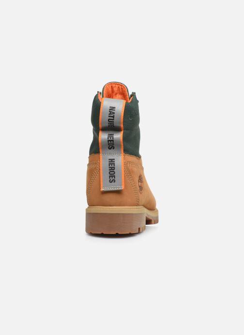 "Bottines et boots Timberland 6"" WP Treadlight Boot Beige vue droite"