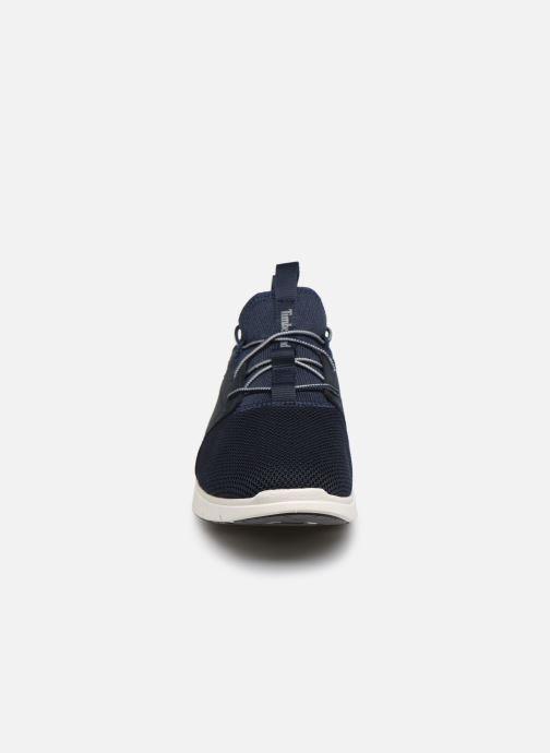 Baskets Timberland Killington FL Sock FitOx Bleu vue portées chaussures