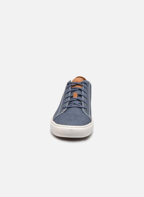 Sneaker Timberland Adv2.0 Cup L/F Oxford blau schuhe getragen