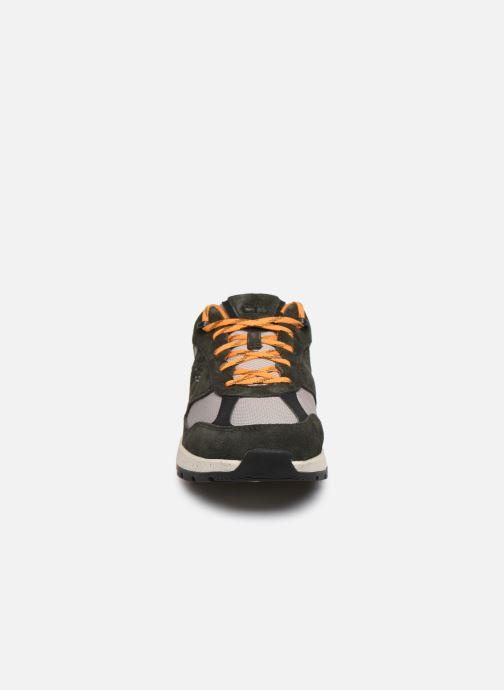 Baskets Timberland Field Trekker Low F/L Vert vue portées chaussures