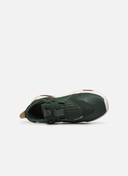 Sneakers Timberland Earth Rally Flexiknit Ox Verde immagine sinistra