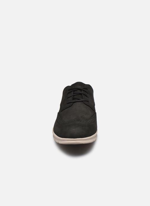 Baskets Timberland Graydon Lthr Brogue Ox Noir vue portées chaussures