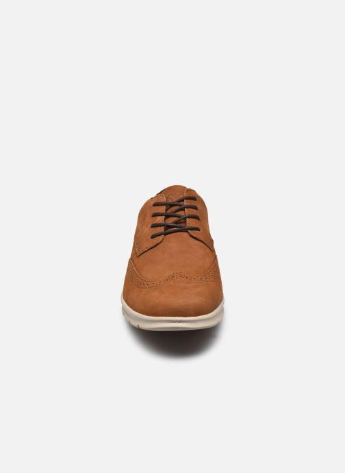 Baskets Timberland Graydon Lthr Brogue Ox Marron vue portées chaussures