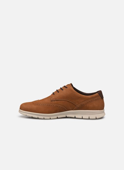 Baskets Timberland Graydon Lthr Brogue Ox Marron vue face