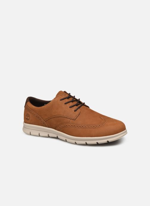Baskets Timberland Graydon Lthr Brogue Ox Marron vue détail/paire